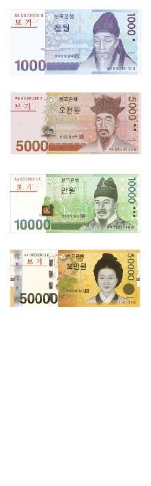 Corée du Sud (KRW)