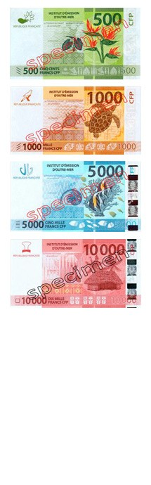 Pacifique - Franc (XPF)